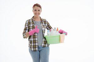empleada domestica de limpieza