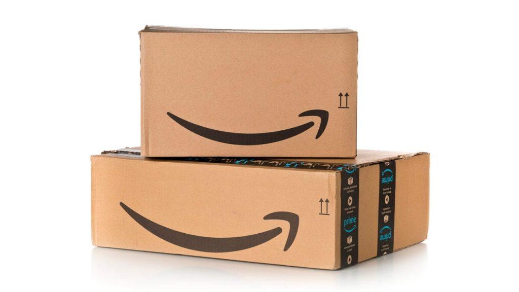 Paquetes de un pedido de amazon
